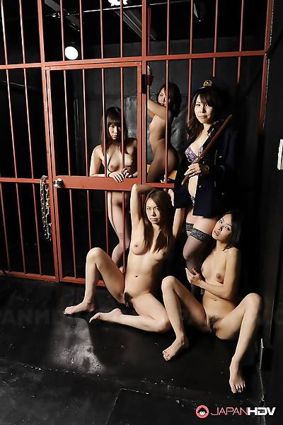 Japanese prison sluts..