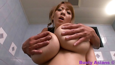 Busty japanese with massive..