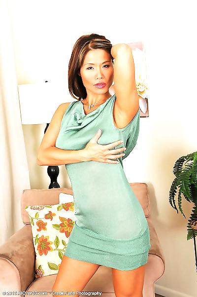 Hot mature Asian woman..