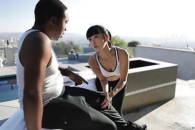 Japanese masseuse Marica..