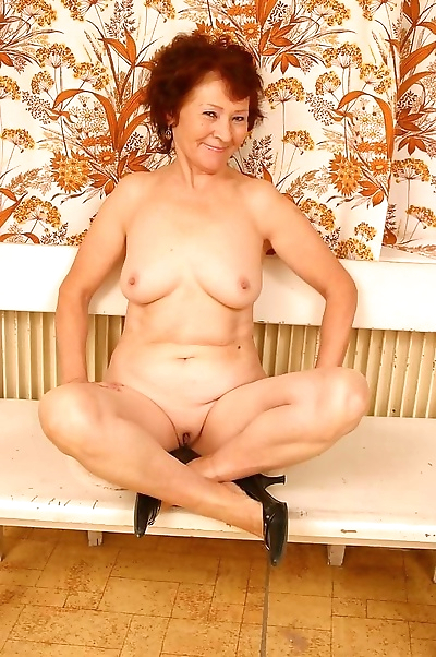 Horny amateur granny from..
