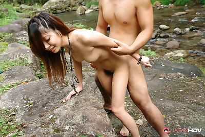 Outdoor sex session with..