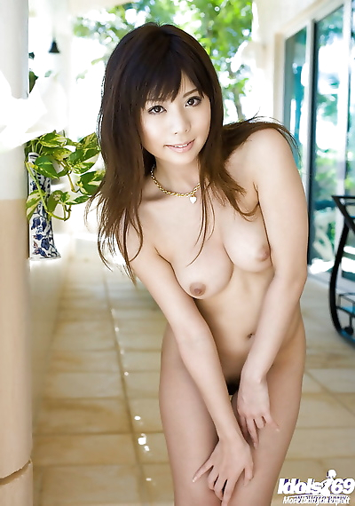 Sexy asian coed Aya Hirai..