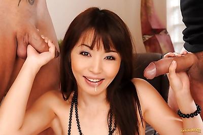 Asian hottie Marica Hase has..