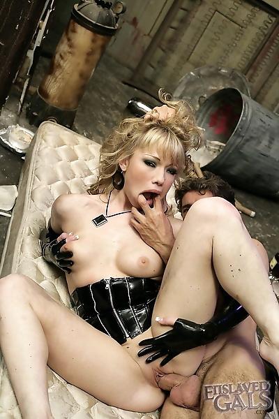 Superb blonde doll in..