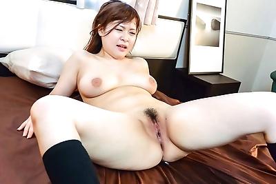 Busty asian schoolgirl satomi nagase enjoys a cock - part 426