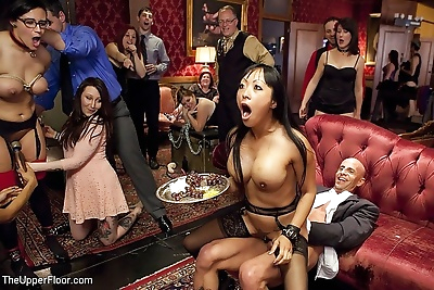 Gaia fucked for the first time during the upperfloor bsdm sex party with penny b - part 2938